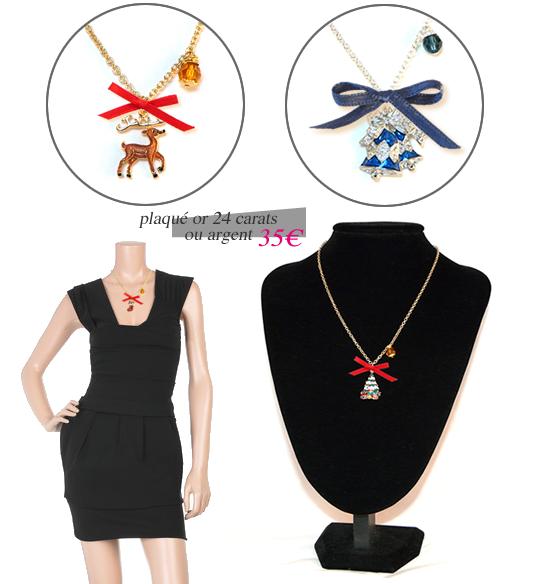 pendentif noel Des bijoux de Noël ☃   L'Affaire du Collier pendentif noel