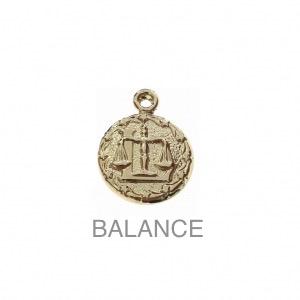 im-Breloque-astrologique-signe-du-zodiaque-Balance-13-mm-Plaque-Or-3-microns-x1