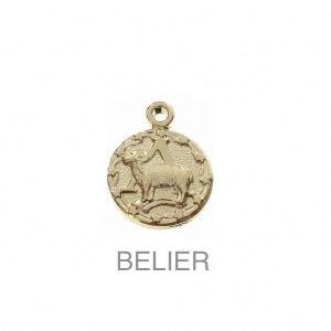 im-Breloque-astrologique-signe-du-zodiaque-Belier-13-mm-Plaque-Or-3-microns-x1
